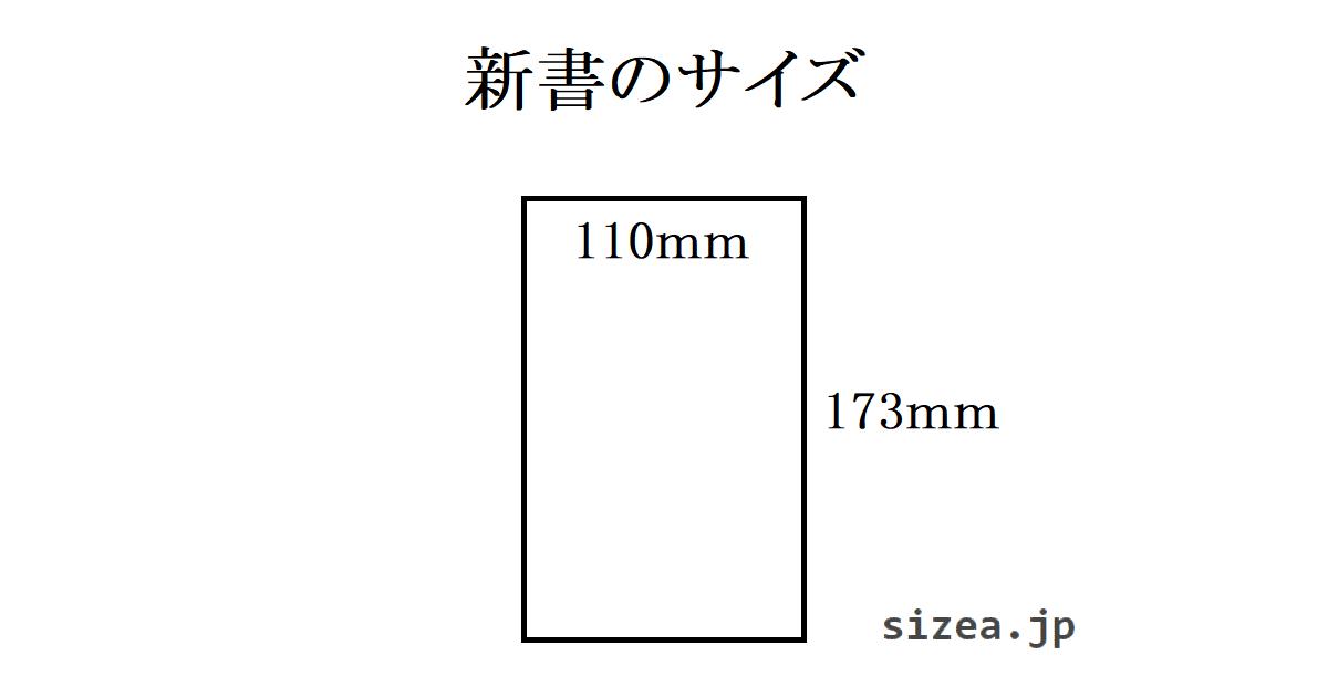 新書のサイズ
