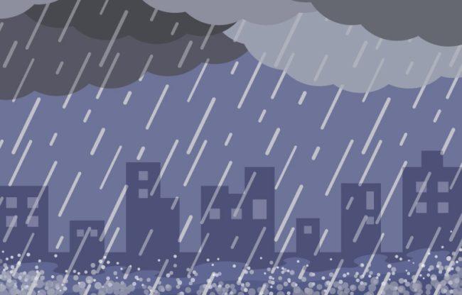 「台風による影響が小さいと勘違いさせない工夫」がされている