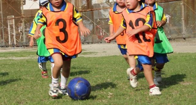 3号はキッズサッカー用のボール