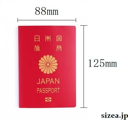 パスポートのサイズ
